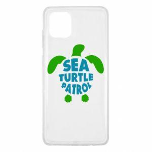 Etui na Samsung Note 10 Lite Sea turtle patrol