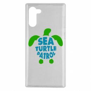 Etui na Samsung Note 10 Sea turtle patrol