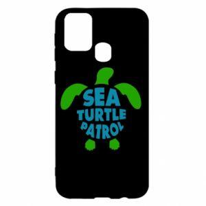 Etui na Samsung M31 Sea turtle patrol