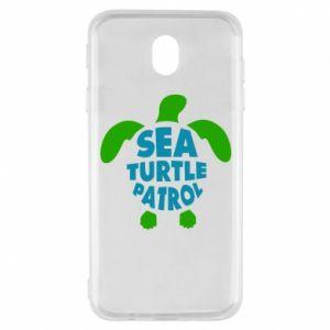 Etui na Samsung J7 2017 Sea turtle patrol