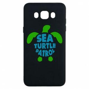 Etui na Samsung J7 2016 Sea turtle patrol