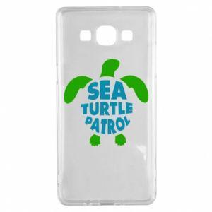 Etui na Samsung A5 2015 Sea turtle patrol