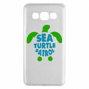Etui na Samsung A3 2015 Sea turtle patrol