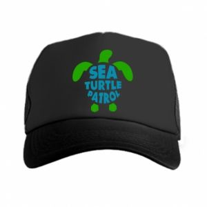 Czapka trucker Sea turtle patrol