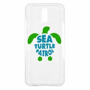 Etui na Nokia 2.3 Sea turtle patrol