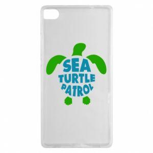 Etui na Huawei P8 Sea turtle patrol