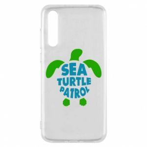 Etui na Huawei P20 Pro Sea turtle patrol