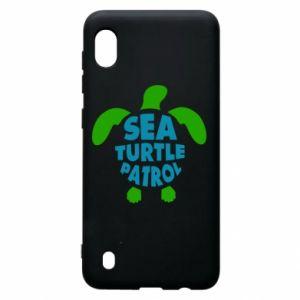 Etui na Samsung A10 Sea turtle patrol