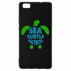 Etui na Huawei P 8 Lite Sea turtle patrol