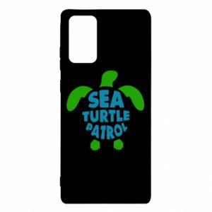 Etui na Samsung Note 20 Sea turtle patrol