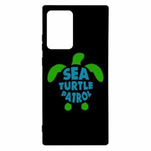 Etui na Samsung Note 20 Ultra Sea turtle patrol