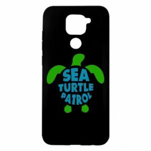 Etui na Xiaomi Redmi Note 9/Redmi 10X Sea turtle patrol