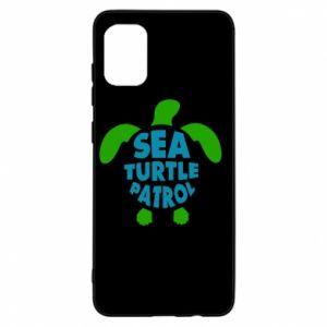 Etui na Samsung A31 Sea turtle patrol