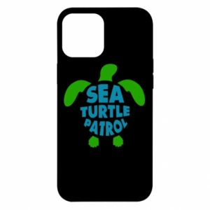 Etui na iPhone 12 Pro Max Sea turtle patrol