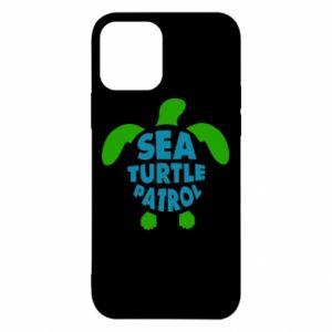 Etui na iPhone 12/12 Pro Sea turtle patrol