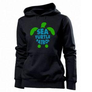 Damska bluza Sea turtle patrol