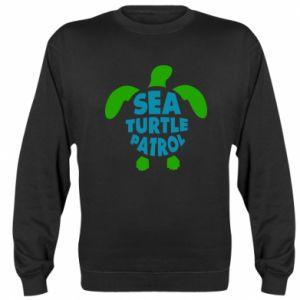Sweatshirt Sea turtle patrol