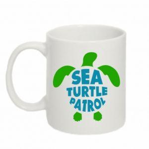 Kubek 330ml Sea turtle patrol