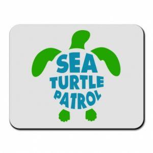 Podkładka pod mysz Sea turtle patrol