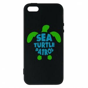 Etui na iPhone 5/5S/SE Sea turtle patrol