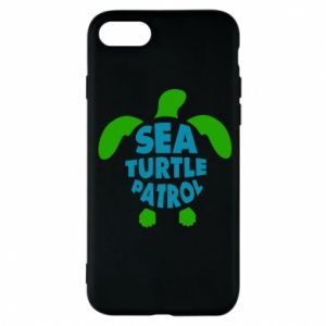 Etui na iPhone 7 Sea turtle patrol