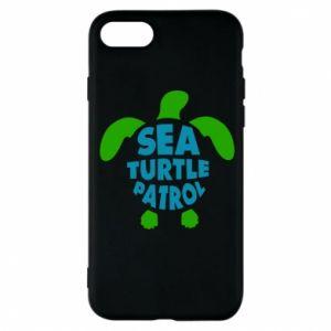 Etui na iPhone 8 Sea turtle patrol
