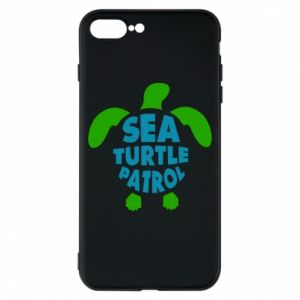 Etui na iPhone 8 Plus Sea turtle patrol