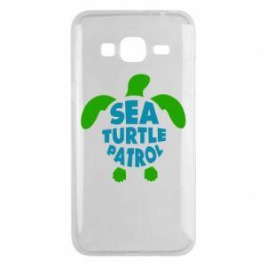 Etui na Samsung J3 2016 Sea turtle patrol
