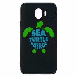 Etui na Samsung J4 Sea turtle patrol
