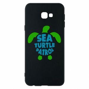 Etui na Samsung J4 Plus 2018 Sea turtle patrol