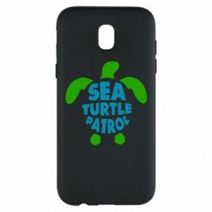 Etui na Samsung J5 2017 Sea turtle patrol