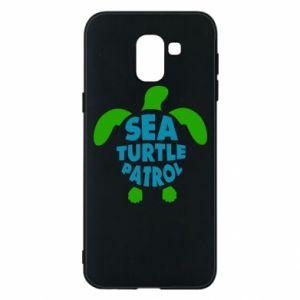 Etui na Samsung J6 Sea turtle patrol