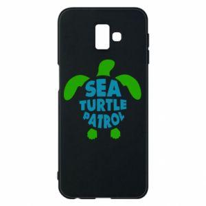 Etui na Samsung J6 Plus 2018 Sea turtle patrol