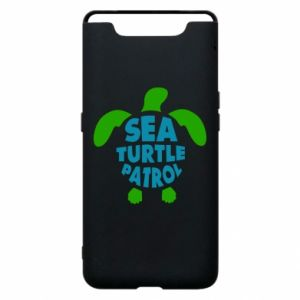 Phone case for Samsung A80 Sea turtle patrol