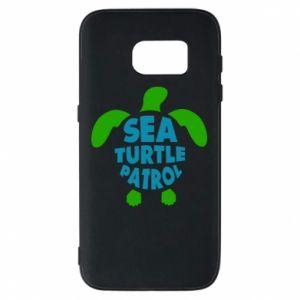 Etui na Samsung S7 Sea turtle patrol