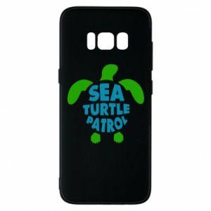 Etui na Samsung S8 Sea turtle patrol