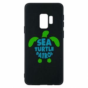 Etui na Samsung S9 Sea turtle patrol