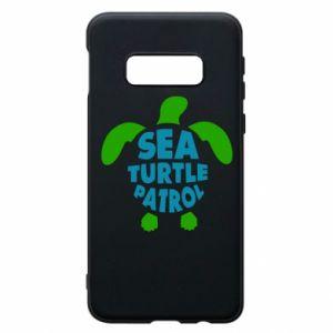 Etui na Samsung S10e Sea turtle patrol