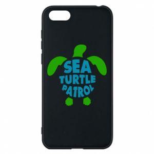 Etui na Huawei Y5 2018 Sea turtle patrol