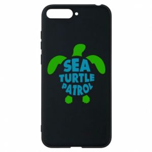 Etui na Huawei Y6 2018 Sea turtle patrol