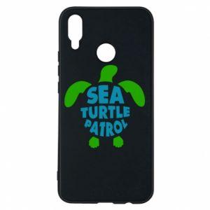 Etui na Huawei P Smart Plus Sea turtle patrol