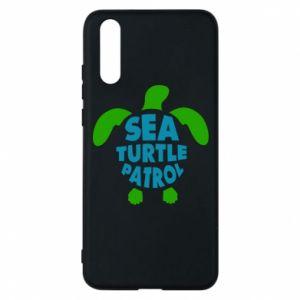 Etui na Huawei P20 Sea turtle patrol