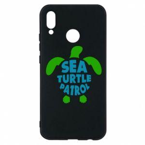 Etui na Huawei P20 Lite Sea turtle patrol