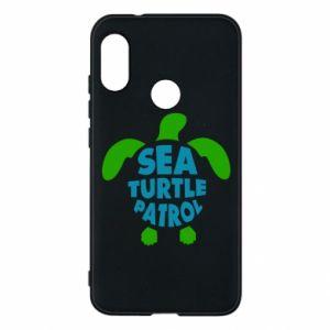 Etui na Mi A2 Lite Sea turtle patrol