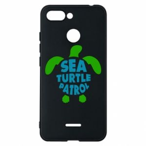 Etui na Xiaomi Redmi 6 Sea turtle patrol