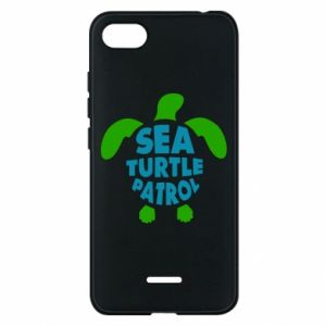 Etui na Xiaomi Redmi 6A Sea turtle patrol