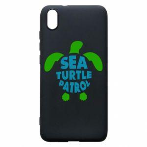 Etui na Xiaomi Redmi 7A Sea turtle patrol