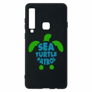 Etui na Samsung A9 2018 Sea turtle patrol