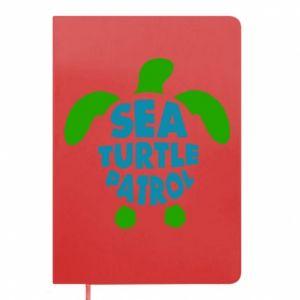 Notes Sea turtle patrol