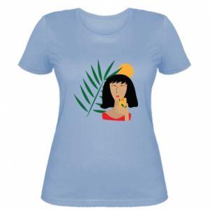 Damska koszulka Selfie